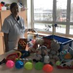 Projet «malle à jouets» à St Vincent de Paul