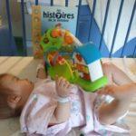 Louise et son jouet Ludopital