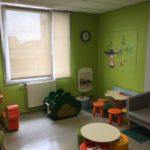 Aménagement d'une salle de jeux au Centre Hospitalier d'Hazebrouck